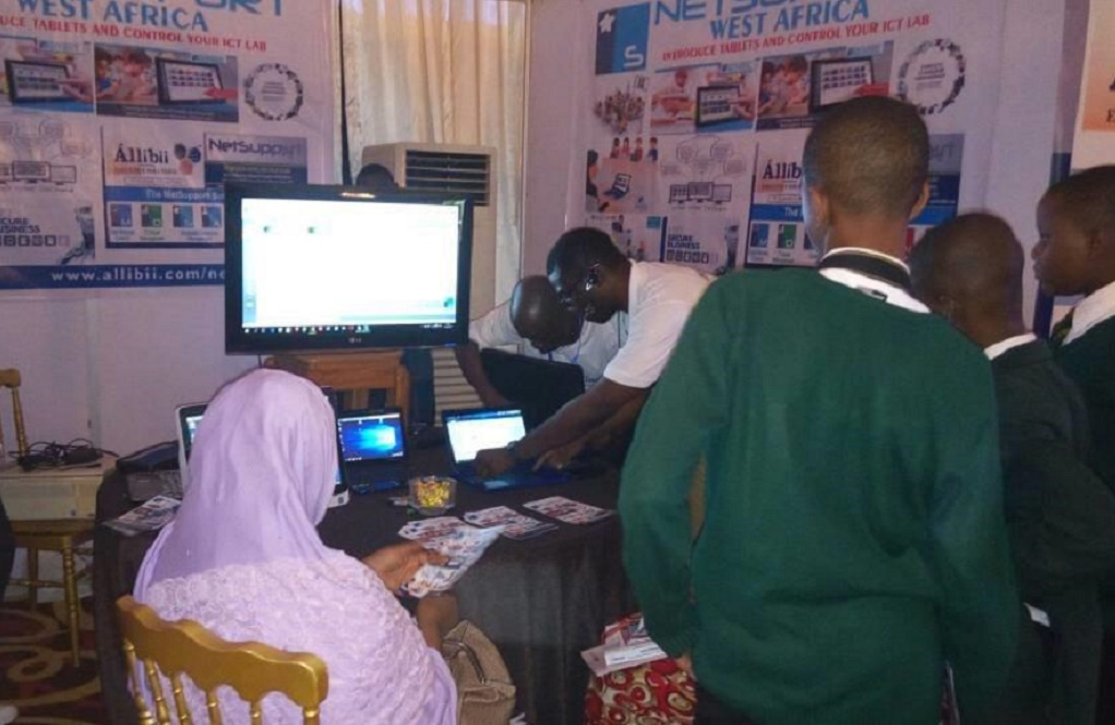 NetSupport's partner, Allibii Executive Solutions Nigeria Limited, exhibits at ASNE
