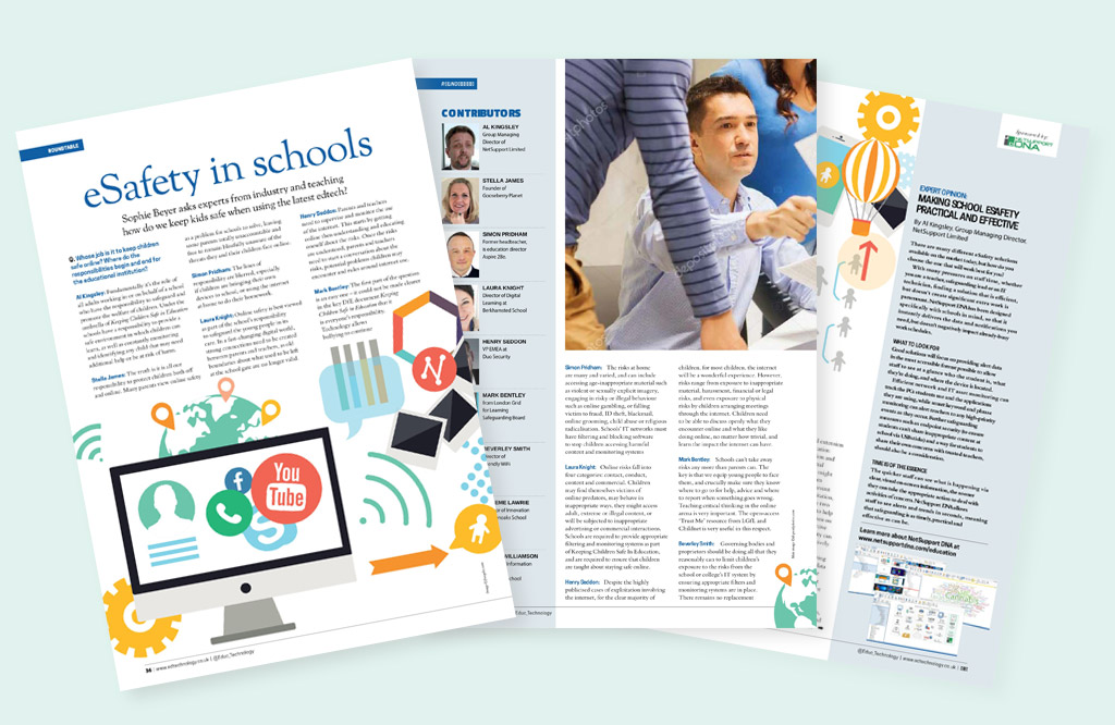 NetSupport takes part in Education Technology's eSafety roundtable