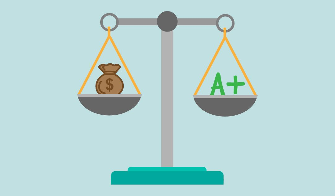 Is school funding linked to good results?