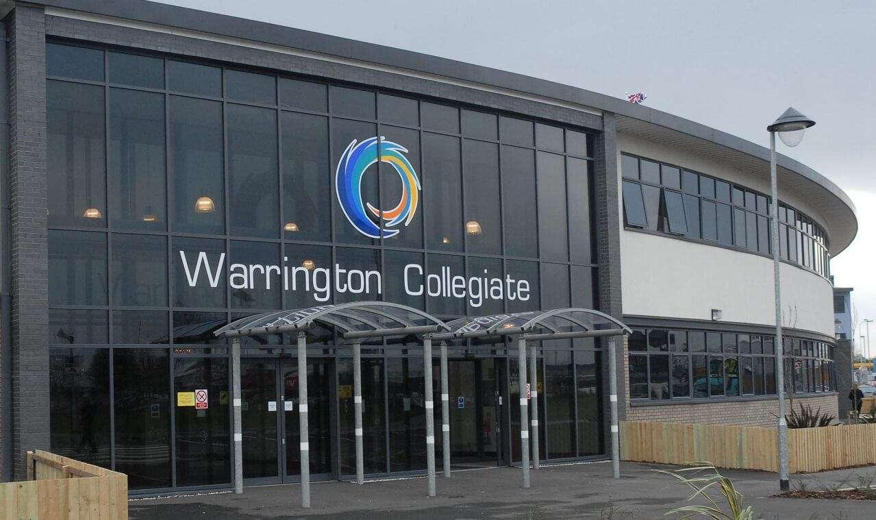 Warrington Collegiate Front