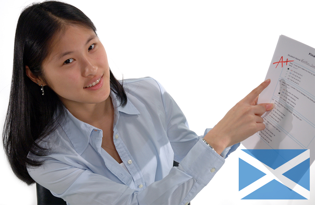 Scottish exam results remain consistent