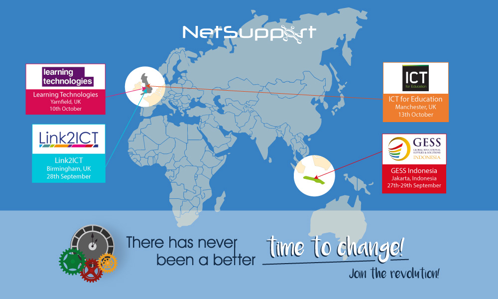 Visit NetSupport at upcoming events