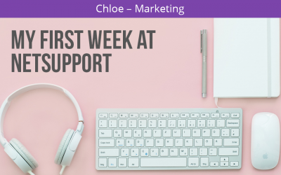 Looking back – My first week as a Marketing Apprentice