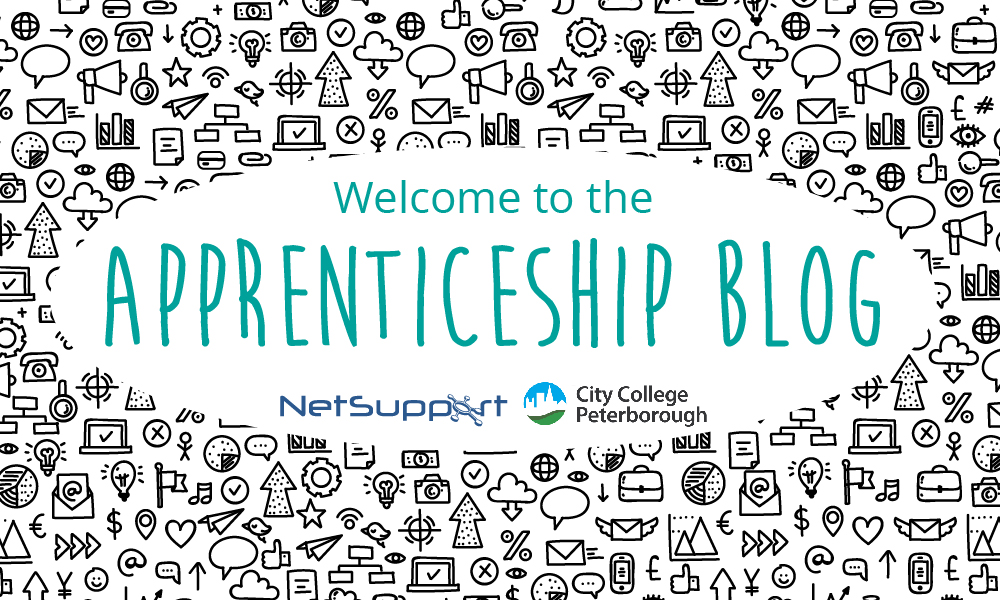 Hello and welcome to our Apprenticeship Blog!