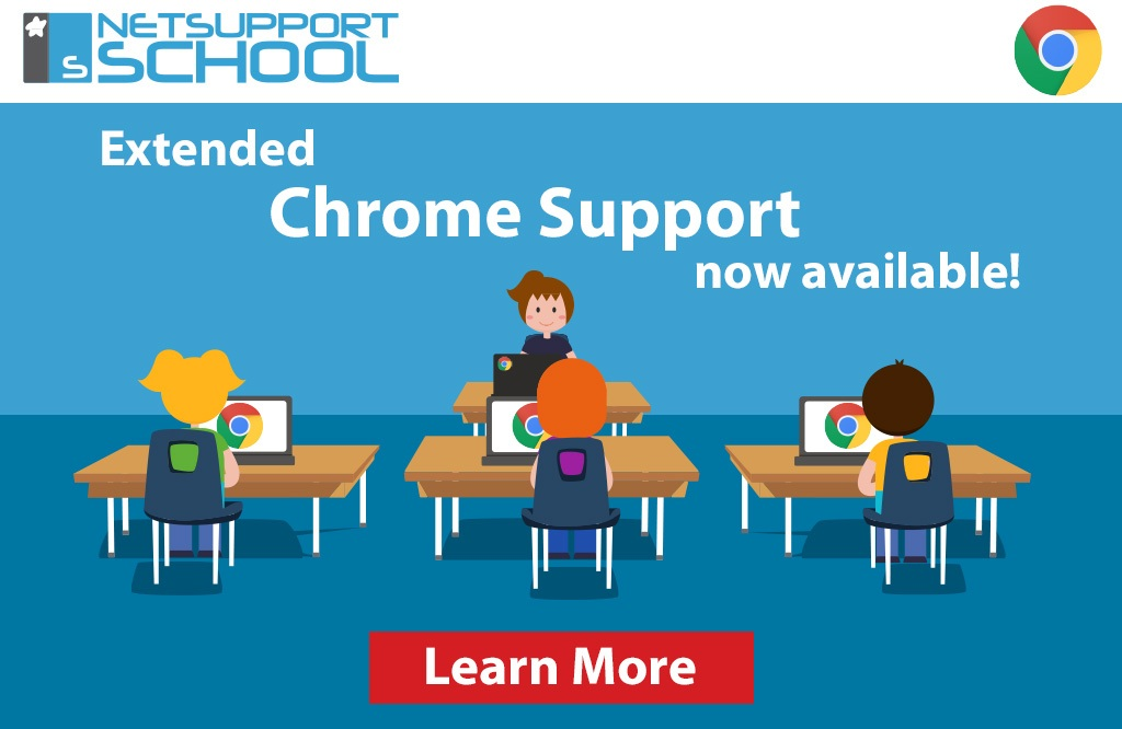 New update to NetSupport School's Chrome Tutor now available!