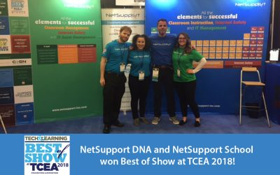 NetSupport's solutions named Best of Show at TCEA!