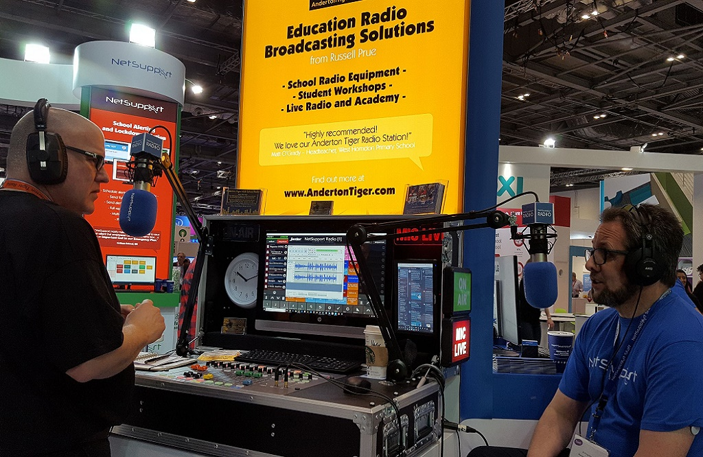 NetSupport Radio discusses the changes seen in the use of education technology