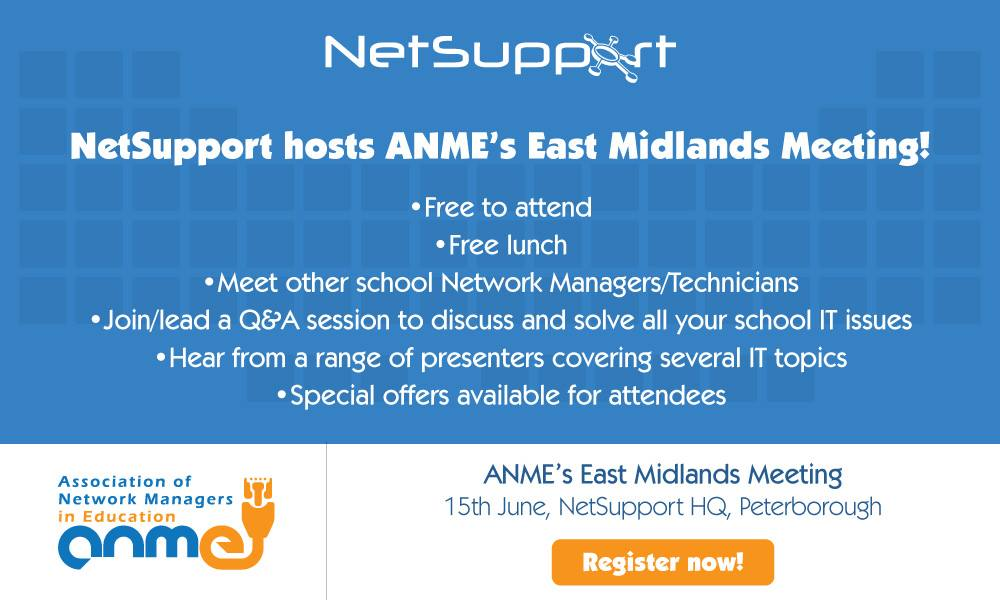 NetSupport hosts the East Midlands ANME event
