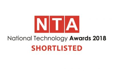 NetSupport shortlisted in the National Technology Awards 2018