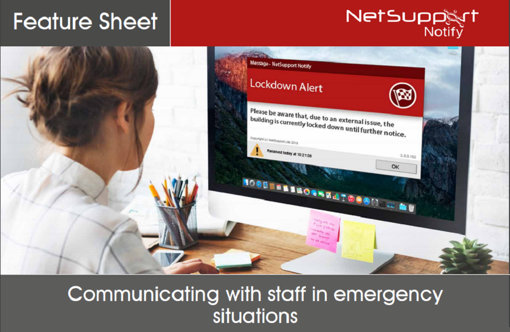 Communicating with staff in emergency situations