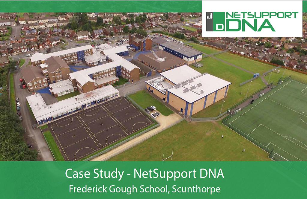 Frederick Gough School reviews NetSupport DNA