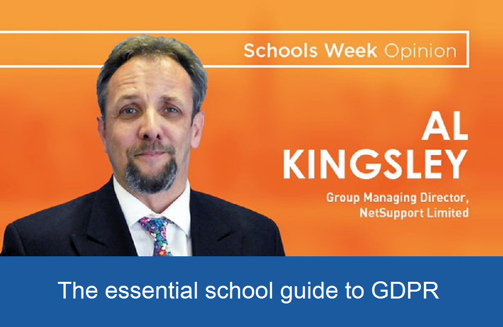 The essential school guide to GDPR