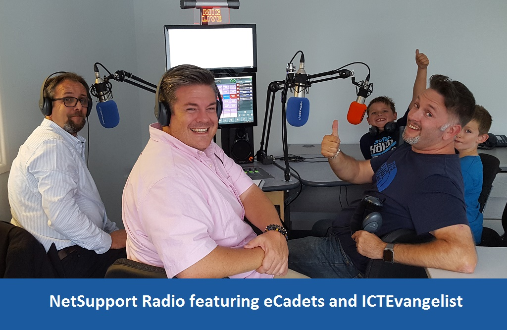 Listen to the latest podcast from NetSupport Radio