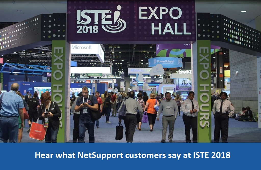 Hear what NetSupport's customers say at ISTE 2018