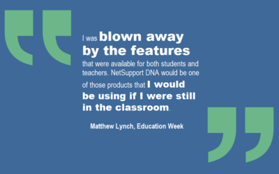 NetSupport features on Education Week!