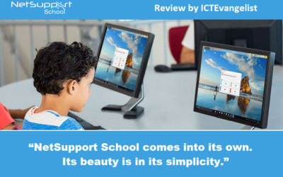 ICTEvangelist reviews NetSupport School