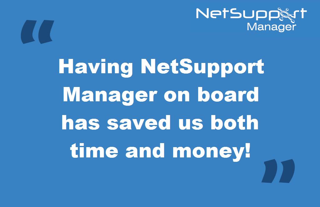 Yokogawa recommends NetSupport Manager!