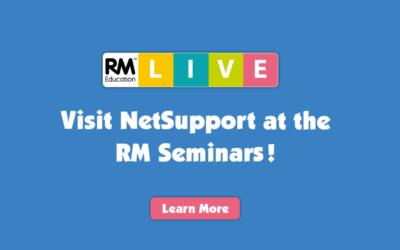 Visit NetSupport at the upcoming RM Seminars!
