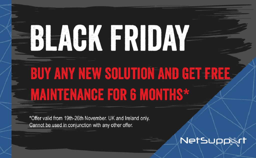 NetSupport Black Friday offer!