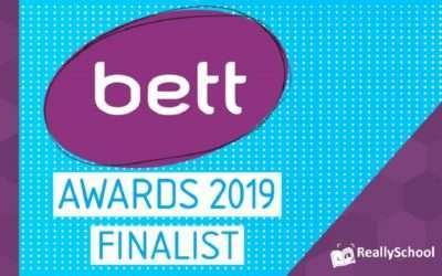 ReallySchool is shortlisted as a finalist in the Bett Awards 2019
