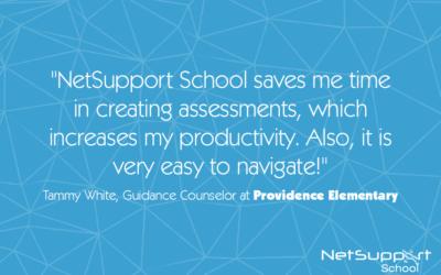 Providence Elementary reviews NetSupport School