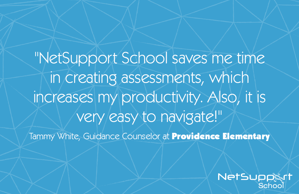 Providence Elementary reviews NetSupport School