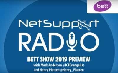 NetSupport Radio discusses edtech and Bett 2019