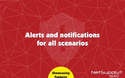 A variation of alerts for a variation of requirements