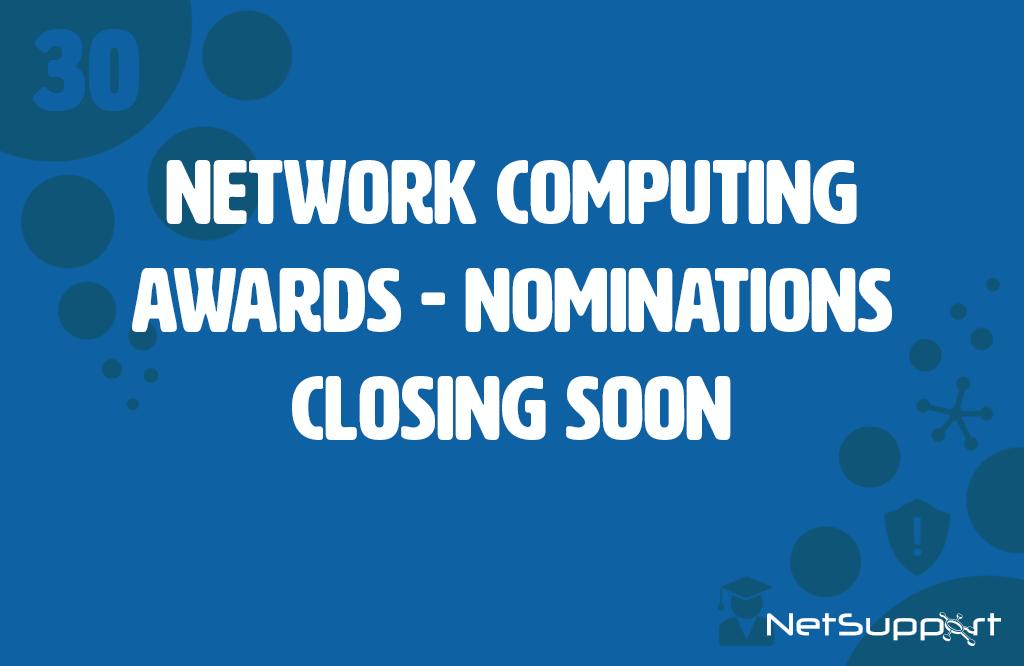 Network Computing Awards – Nominations closing