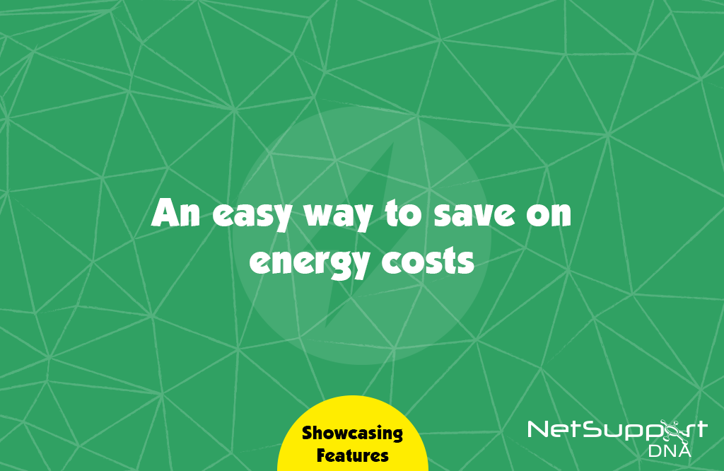 Save on energy costs…