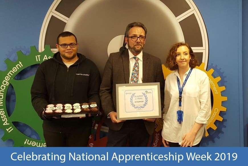 NetSupport celebrates National Apprenticeship Week