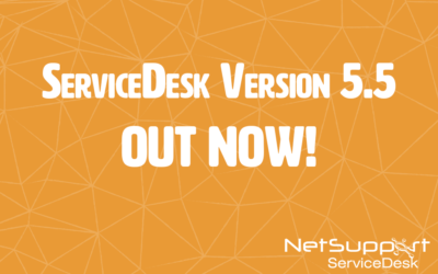 New version of NetSupport ServiceDesk out now!
