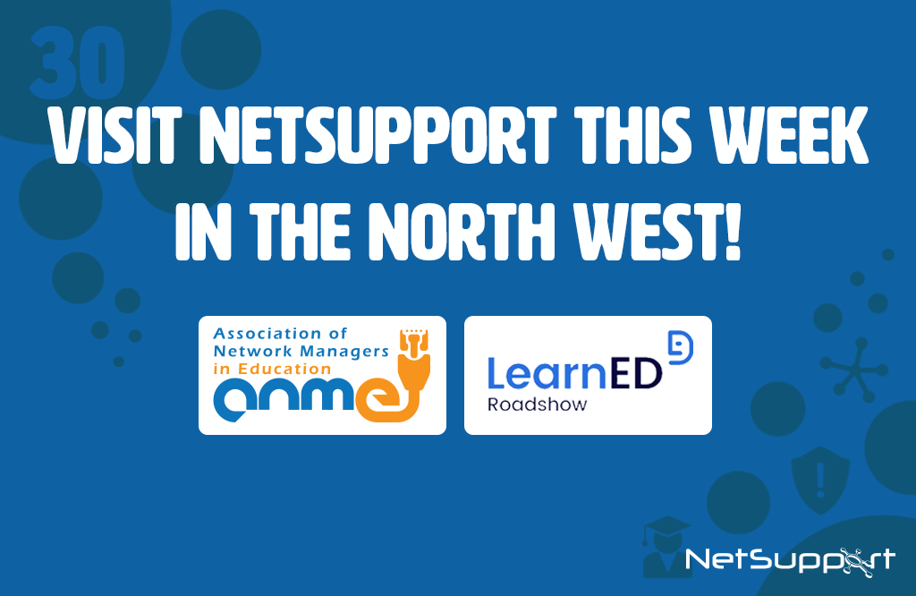 This week is a busy week for the NetSupport team!