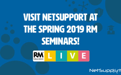 Join NetSupport at the Spring 2019 RM Seminars