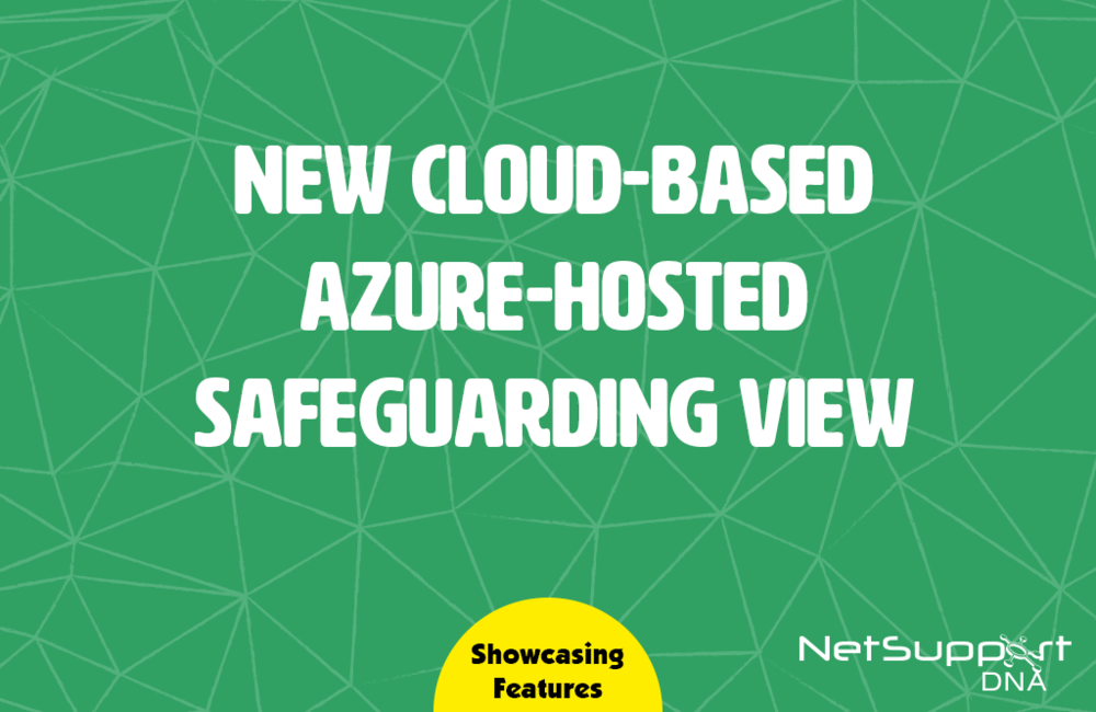 New Azure-hosted safeguarding view
