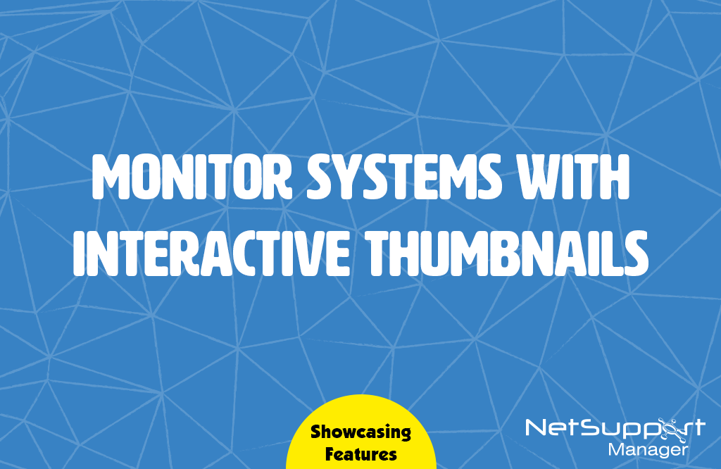 Monitor Systems with Interactive Thumbnails