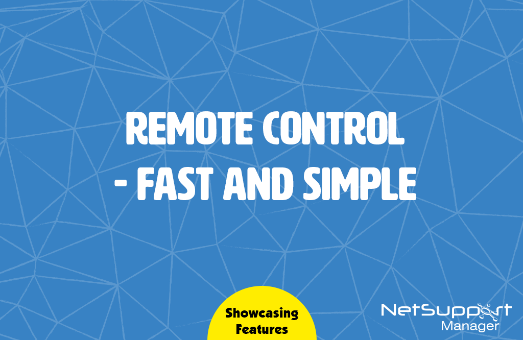 Remote Control – fast and simple