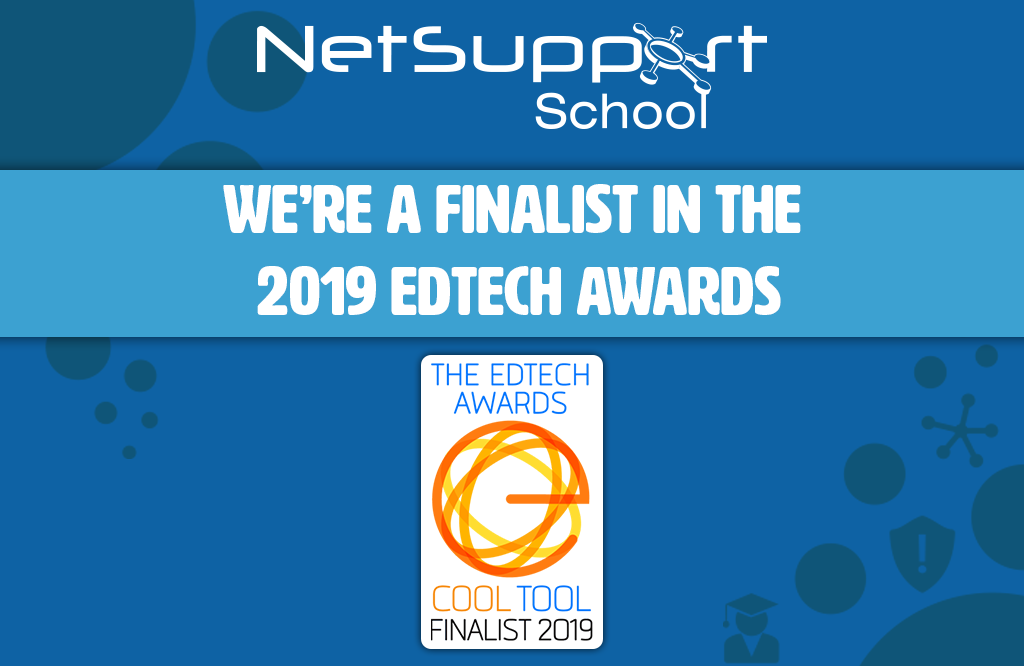 NetSupport School is a finalist in The EdTech Awards!