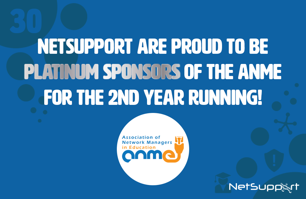 NetSupport are Platinum sponsors of the ANME again!