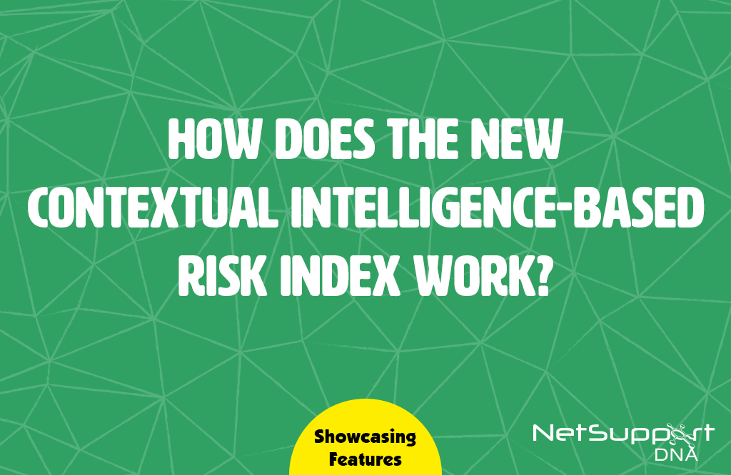 How does the new Contextual intelligence-based Risk Index support safeguarding staff?
