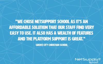 Grove City Christian School reviews NetSupport School