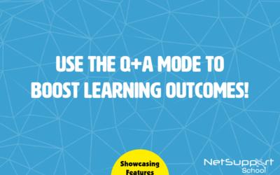 Discover the Q+A mode…