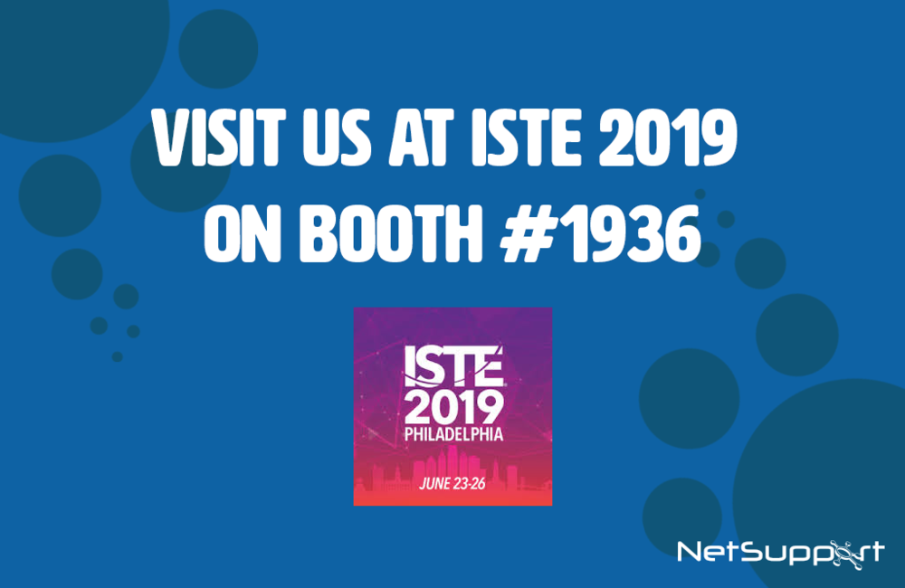 Visit NetSupport at ISTE