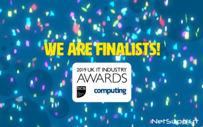 NetSupport is a finalist in the 2019 UK IT Industry awards!