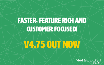 New version of NetSupport DNA out now!