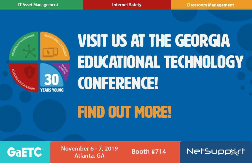 Visit NetSupport at GaETC!