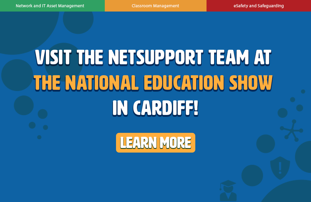 Visit NetSupport at The National Education Show!