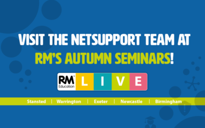 NetSupport are at RM's Autumn Seminars!