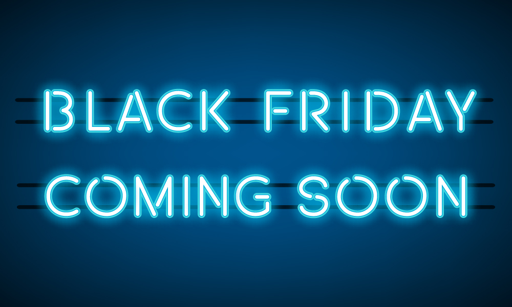 Black Friday special offers – coming soon!