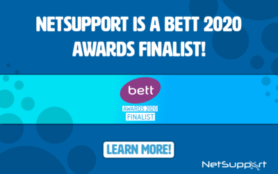 NetSupport is a BETT 2020 awards finalist!